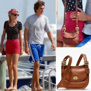 Coach Legacy Leather Mini Saddle Bag Taylor Swift